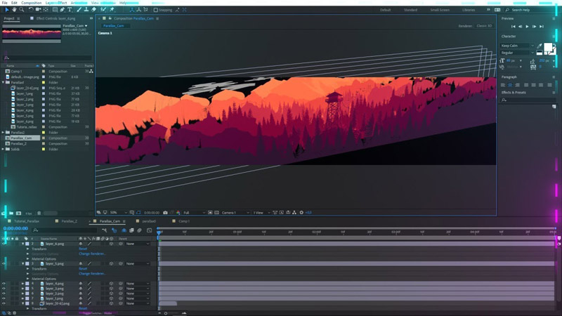 Curso online de After Effects