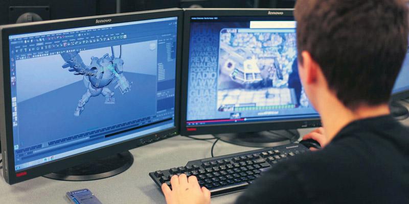 Curso online de programação de jogos