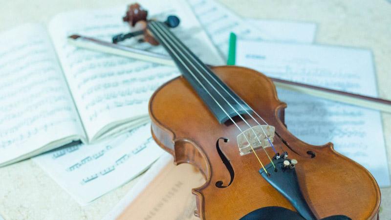 Curso online de violino